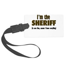 Im the sheriff copy.png Luggage Tag