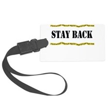 policeline Stay back.png Luggage Tag