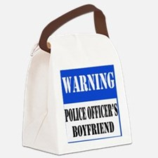 dangersignpoliceboyfriend.png Canvas Lunch Bag