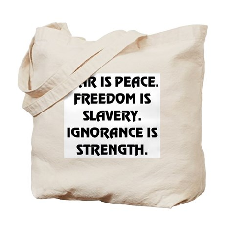 War Is Peace Tote Bag