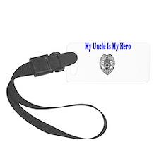 policeherouncle.JPG Luggage Tag