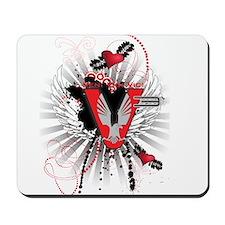 V3 graphic design Mousepad