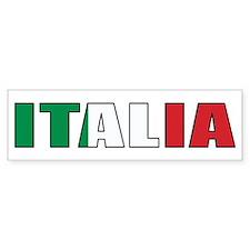 Italy Bumper Car Sticker