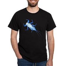 <i>Drunella</i> Mayfly Nymph Black T-Shirt