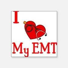 "heartemt.JPG Square Sticker 3"" x 3"""
