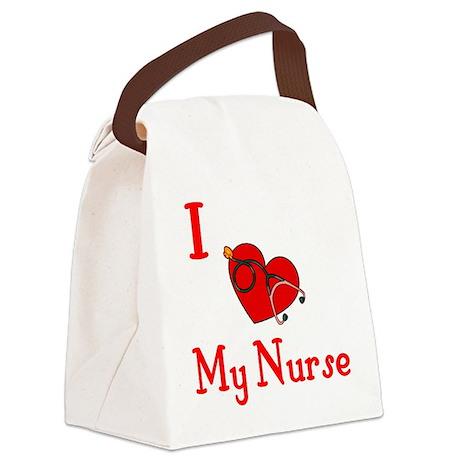 heartnurse.JPG Canvas Lunch Bag