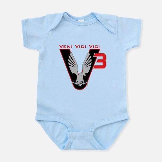 V3 logo Infant Bodysuit