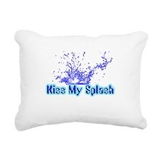 kiss my splash.png Rectangular Canvas Pillow