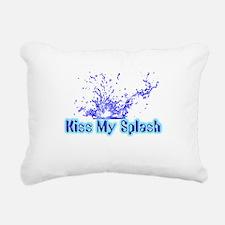 kiss my splash.png Rectangular Canvas Pillow