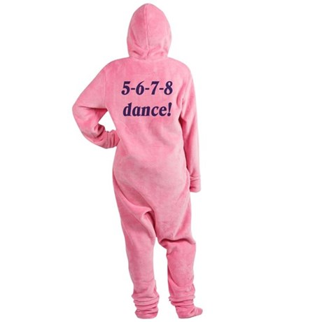5678white.png Footed Pajamas