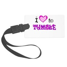I Love to tumble.png Luggage Tag