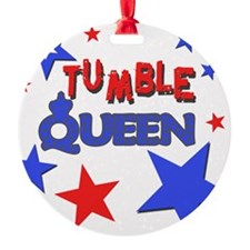 red blue stars tumble queen.png Ornament
