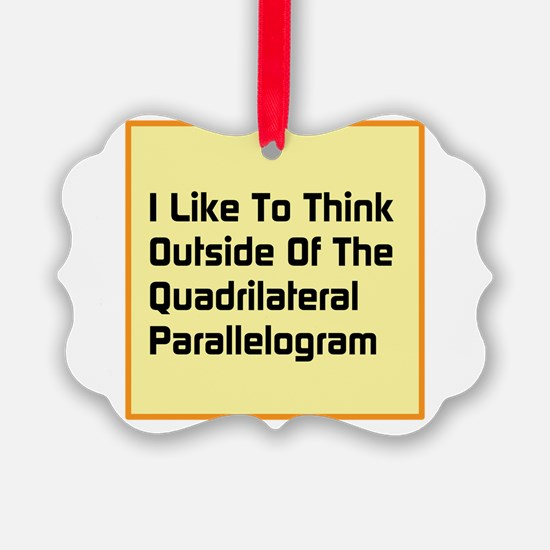 Quadrilateral Parallelogram Ornament
