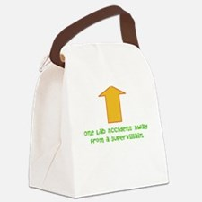 Lab Accident Canvas Lunch Bag