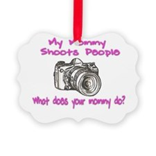 Shoots People mommy pink.png Ornament