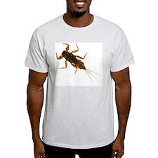 <i>Drunella</i> Mayfly Nymph Ash Grey T-Shirt