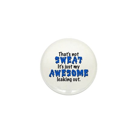 Awesome Sweat Mini Button (100 pack)