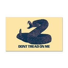 Dont Tread on me - updated Rectangle Car Magnet