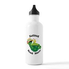 Retired Head Nurse Gift Water Bottle