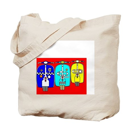 Scooterscape Tote Bag