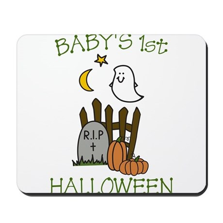 Babys 1st Halloween Mousepad