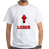 Loser Mens Classic White T-Shirts
