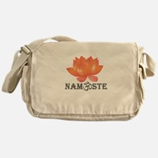 Namaste lotus Messenger Bag