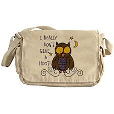 Dont Give A Hoot Messenger Bag