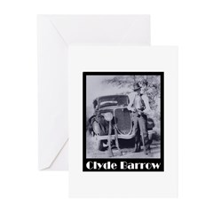 Clyde Barrow Greeting Cards (Pk of 20)