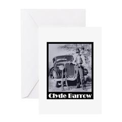 Clyde Barrow Greeting Card