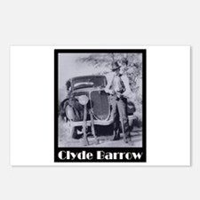 Clyde Barrow Postcards (Package of 8)