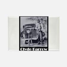 Clyde Barrow Rectangle Magnet