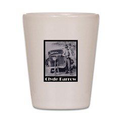 Clyde Barrow Shot Glass