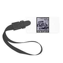 Clyde Barrow Luggage Tag
