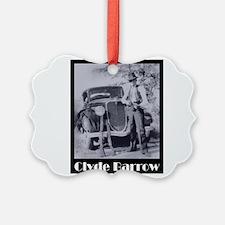 Clyde Barrow Ornament