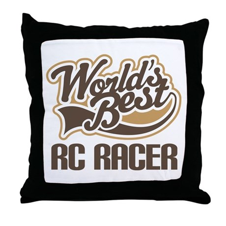 RC Racer (Worlds Best) Throw Pillow