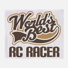 RC Racer (Worlds Best) Throw Blanket