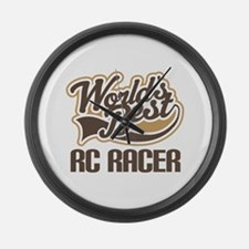 RC Racer (Worlds Best) Large Wall Clock