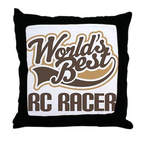 RC Racer (Worlds Best) Throw Pillow