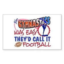 Gymnastics Was Easy Decal