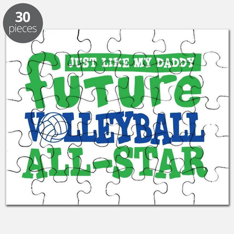 Future All Star Volleyball Boy Puzzle