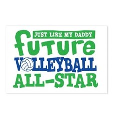 Future All Star Volleyball Boy Postcards (Package
