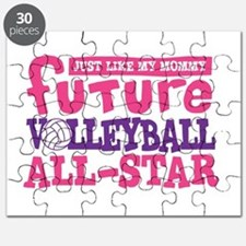 Future All Star Volleyball Girl Puzzle