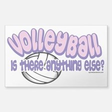 Volleyball Anything Else Sticker (Rectangle)