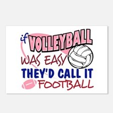 Volleyball Was Easy Postcards (Package of 8)