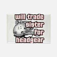 Wrestling Trade Sister For Headgear Rectangle Magn