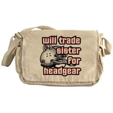 Wrestling Trade Sister For Headgear Messenger Bag