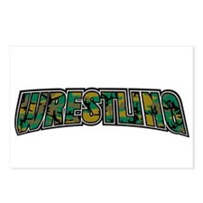 Wrestling Camo Postcards (Package of 8)