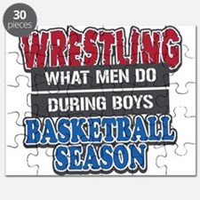 Wrestling What Men Do Puzzle