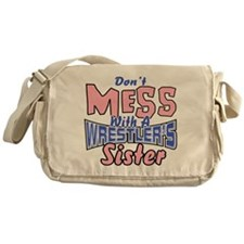 Wrestler's Sister Messenger Bag